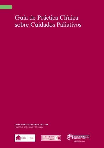 Guía de Práctica Clínica sobre Cuidados Paliativos
