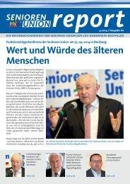 Ausgabe lesen... - Senioren-Union NRW