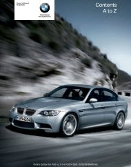 Online Edition for Part no. 01 41 0 014 956 - © 02/08 BMW AG