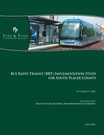 Bus Rapid Transit (BRT) Implementation Study for South ... - pctpa