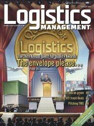 August - Logistics Management