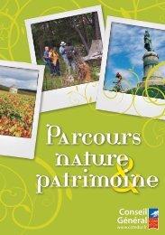 Parcours nature patrimoine - Conseil Général de la Côte-d'Or