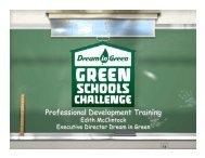 What is Dream in Green School Challenge? - Ada Merritt K-8 Center