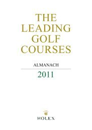 golf spielen. - Leading Golf Courses of Germany