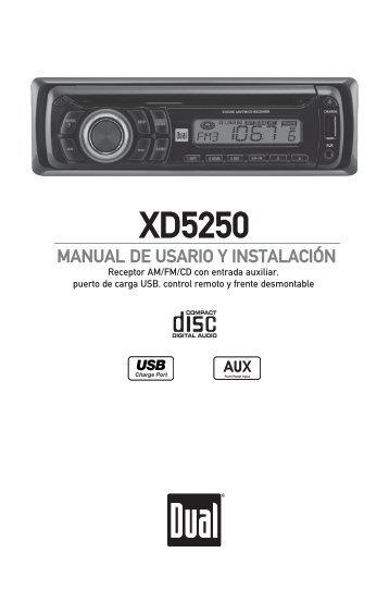 XD5250 - Dual Electronics