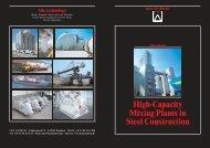 High-Capacity Mixing Plants in Steel Construction - Vermeulen ...