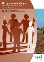 Un dynamisme citoyen - Fondation rurale de Wallonie