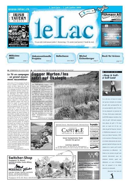 Vully - Zeitung Le Lac, Murten