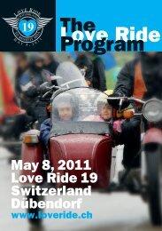 The Love Ride Program - Reuss24.ch
