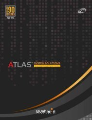 ATLAS® SYSTEM SOLUTIONS - EFJohnson