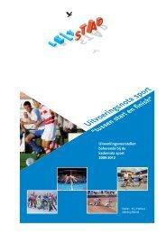 Uitvoeringsnota Sport 2009-2012 Tussen start en finish - Gemeente ...