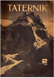 Taternik 2 1978 - Polski Związek Alpinizmu