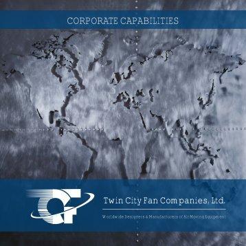 Download Corporate Capabilities - Twin City Fan & Blower