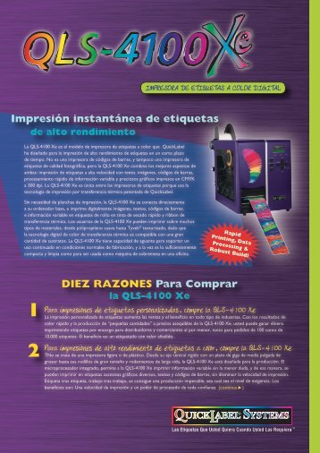 descargar folleto de la impresora (pdf) - Grafietic