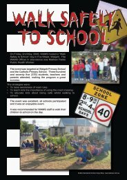 "On Friday, 2nd May, 2008, WAMS hosted a ""Walk Safely to School ..."