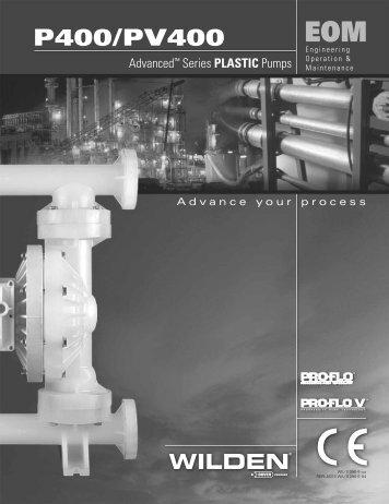P400/PV400 - Process Pumps