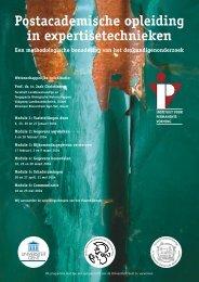 Expertisetechnieken - IVPV - Instituut voor Permanente Vorming
