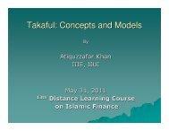Takaful: Concept and Model by Atiquzzafar Khan