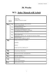30. Woche WT - Lehrerweb