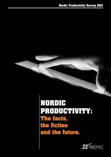 Nordic Productivity Survey - Interviews - Celerant Consulting