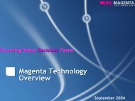 Next Generation Operations Scheduling Delivered by ... - AgentLink