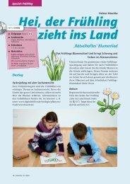 Hei, der Frühling zieht ins Land - Helbling Verlag