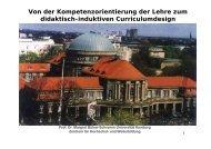 Prof. Dr. Margret Bülow-Schramm - ZHW - Universität Hamburg