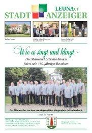 Leunaer Stadtanzeiger - Ausgabe 05/12 - Stadt Leuna