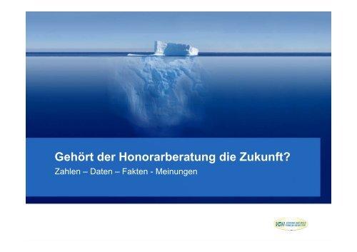 Honorar-Beratung - WMD Brokerchannel