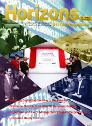 Vol 9 Issue 1, February 2009 - School of Hotel & Tourism ...