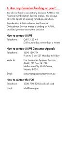 THE AAMI CONSUMER APPEALS SERVICE - Page 3