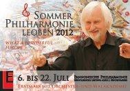 und Malakademie 6. bis 22. Juli - Stadtgemeinde Leoben