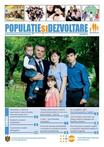 Populație și Dezvoltare - Demografie.md