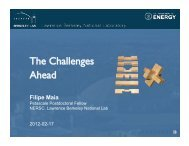 The Challenges Ahead - National Energy Research Scientific ...