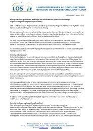 Emdrup den 9. marts 2012 Høring over Forslag til Lov om ... - Los