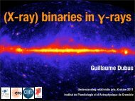 XRBs in Gamma-rays: Recent Results (Dubus)
