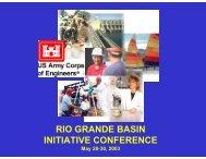 Kevin Craig - 2013 Rio Grande Basin Initiative Meeting