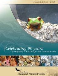 2006 Annual Report - Santa Barbara Museum of Natural History