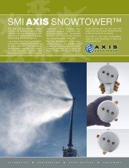 SMI AXIS SNOWTOWER™ - Snow Machines, Inc.