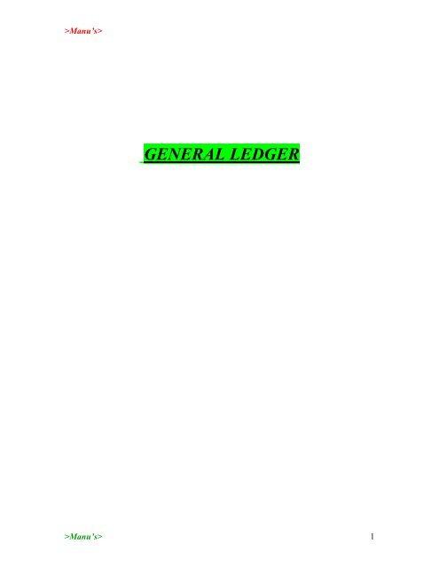 SAP-FI-Notes(pdf) - DOC SERVE