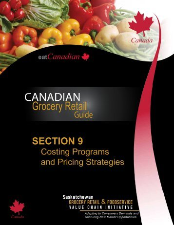 SECTION 9 - Saskatchewan Grocery Retail and Foodservice Value ...