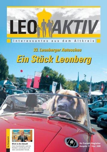 Ein Stück Leonberg Ein Stück Leonberg - leoaktiv.de