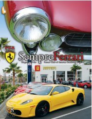 Volume 14 Issue 4 - July/August 2007 - Ferrari Club of America ...