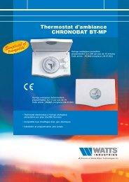 Simplicité et tranquilité - Watts Industries