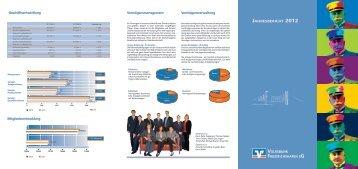 Geschäftsbericht 2012 - Volksbank Friedrichshafen eG