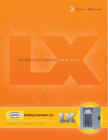 to download the LX Networked Lighting Controls user manual