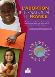 l'adoption internationale en france - France-Diplomatie-Ministère ...