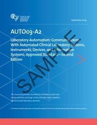 AUTO03-A2: Laboratory Automation: Communications ... - NetSuite