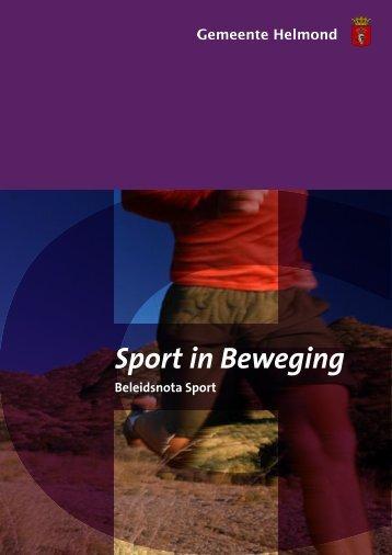 Sport in Beweging - Sport Knowhow XL