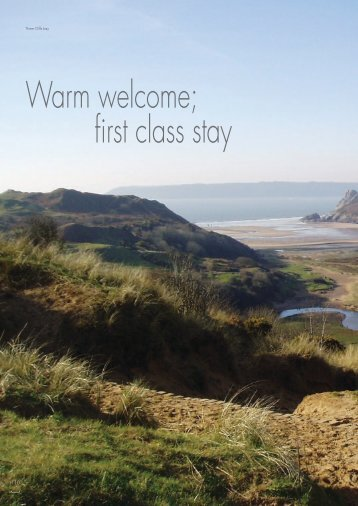 16 Tourism - World Class Wales